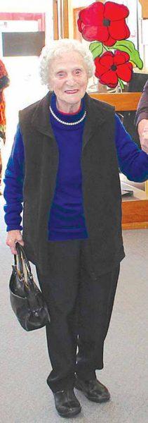 Sylvia Rountree 90th birthday