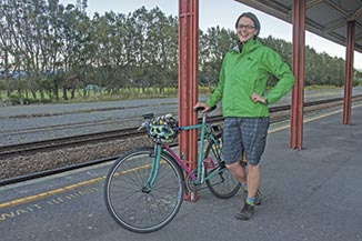 Erika Toleman takes the train into Wellington for work twice a week, and she would have to consider buying a second car if she had to drive to Waikanae. This isn't an option for her.