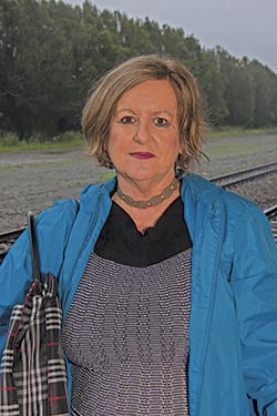 Susan Williams has been taking the train for the last three years. She notes the importance of keeping tired drivers off the road.
