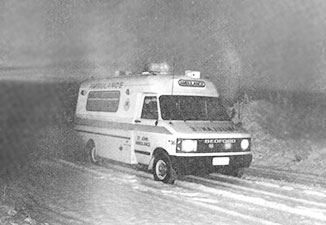Being an ambulance officer in Central Otago's Winter was pretty challenging