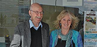Daryl Mclaren and Susie Mills