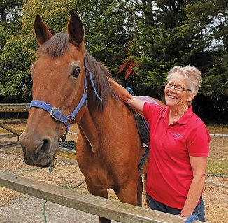 Harley with Levin RDA volunteer Lizi Eade
