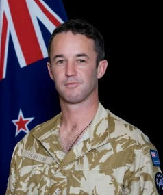 Captain Daniel Edginton, has been awarded a New Zealand Distinguished Service Decoration (2015) for his work as a patrol commander with the New Zealand Provincial Reconstruction Team in Bamyan Province, Afghanistan from April to October 2012. NZ Defence Force