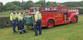 Ōtaki Fire Brigade were the beneficiaries and the helpers