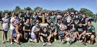 Whiti te Ra ki  taki team and wh nau with their Champion of Champions 2015 trophy, won against Taranaki champions Western Suburb Tigers , Bay of Plenty champions Pikiao , Waikato champions Taniwharau