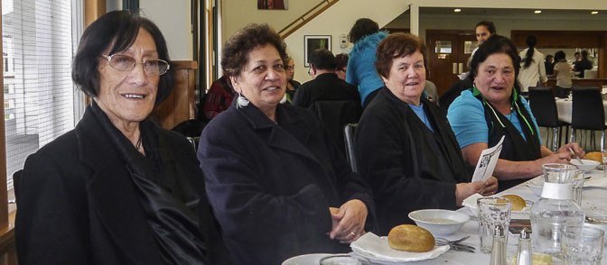Members from Te Roopu Tūmeke, Kāpiti provided the entertainment singing all the old favourites.The kaumatua group come together on a weekly basis at Hora Te Pai in Paraparaumu.