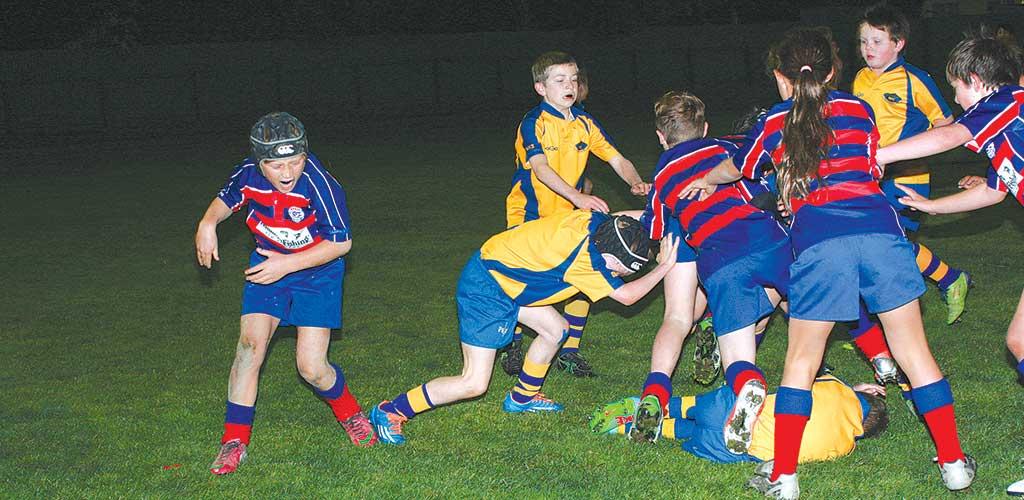 Rahui Kids Rugby Under Lights Otaki Mail