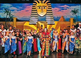 Joseph and his Technicolour Dreamcoat cast